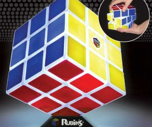 Rubik's Cube Light – Not only does it light up but it is fully functional as a regular Rubik's cube as well!