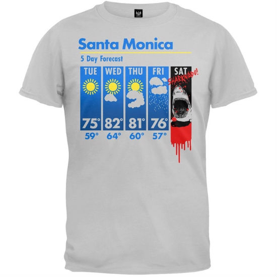 sharknado weather forecast shirt
