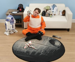Star Wars Death Star Rug – You could say it really TIES the room together!