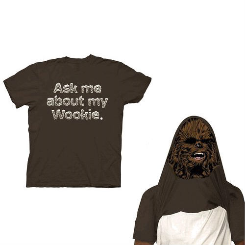 ask me about my wookie tee