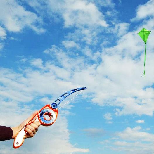 castkite fishing pole kite handle