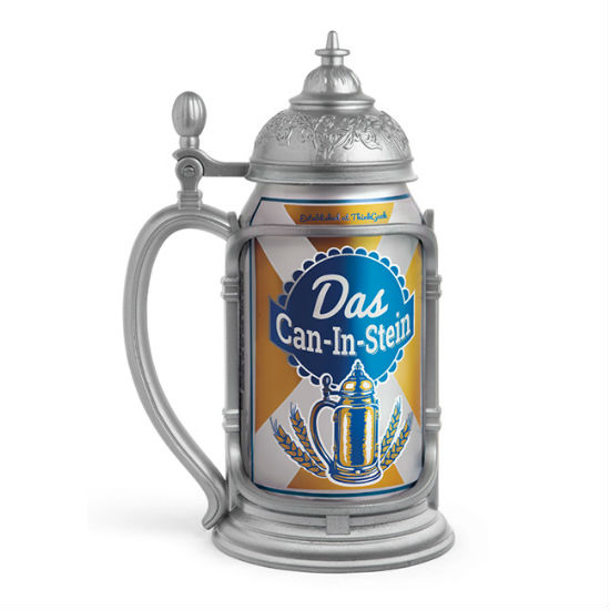 das can in stein