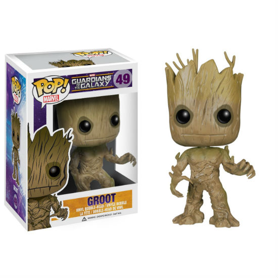 groot bobble head figure