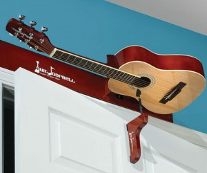 Guitar Doorbell – Enjoy the sweet strum of a guitar every time someone enters your room.