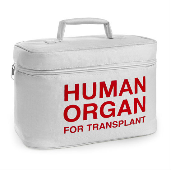 human organ for transplant cooler