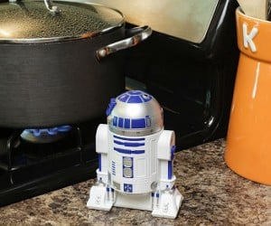 Star Wars R2D2 Kitchen Timer – Great for making sure your TaunTaun burger come out Luke Warm