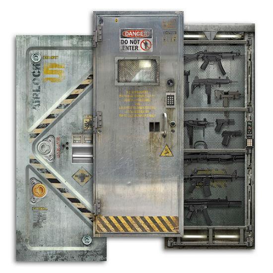 sci fi door decals