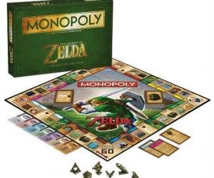 Zelda Monopoly – Forget about saving Hyrule, monopolize it!