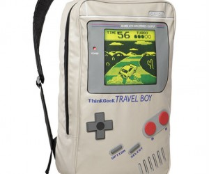 Portable gaming devices were designed to be, well, portable, so it only makes sense to design a backpack after them!