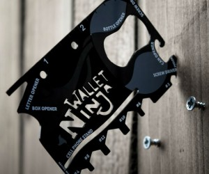 The Wallet Ninja – This 18 in 1 multitool is so useful you'll never leave home without it