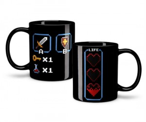 8 Bit Zelda Heat Changing Mug – It's dangerous to go alone take this mug!