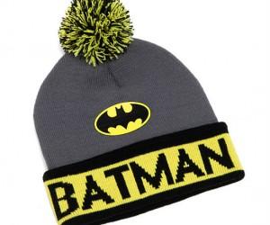 Batman Knit Beanie – How else is Batman going to keep his head warm this winter?