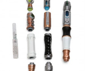 Doctor Who Build your own Sonic Screwdriver Set – Over 80 timey whimey combinations!