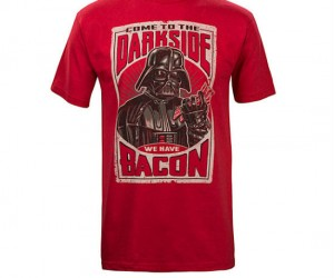 Star Wars Dark Side Bacon Tee – Yet another reason to join the Dark Side