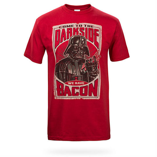 dark side bacon tee