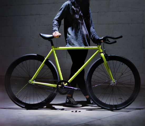 glow in the dark bike