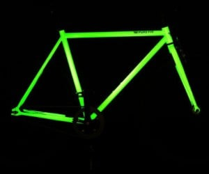 Make your nightly bike rides much safer by adding more visibility to the bike itself!