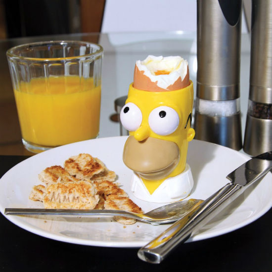 homer simpson egg cup