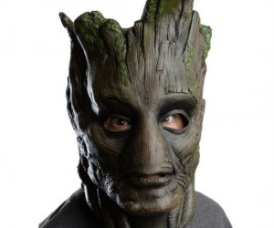 Become a Guardian of your neighborhood with your very own Groot mask!