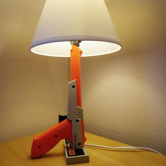 nes controller desk lamp