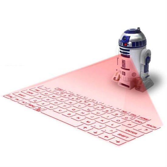 r2d2 projection keyboard