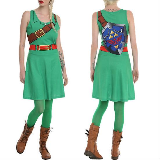 the legend of zelda link costume dress