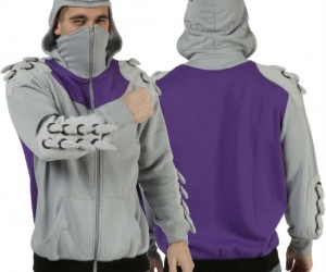 TMNT Shredder Hoodie – The perfect way to sneak yourself into the Technodrome