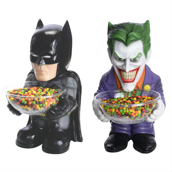 Batman And Joker Candy Dish Holders Shut Up And Take My
