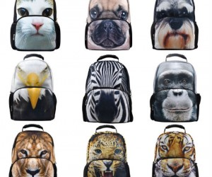 Bring out your wild side this school year when your favorite animal has your back!
