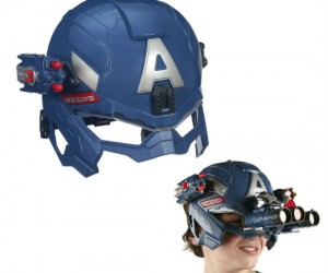 Captain America Battle Helmet – Gear up just like your favorite patriotic Avenger with the Battle Helmet!