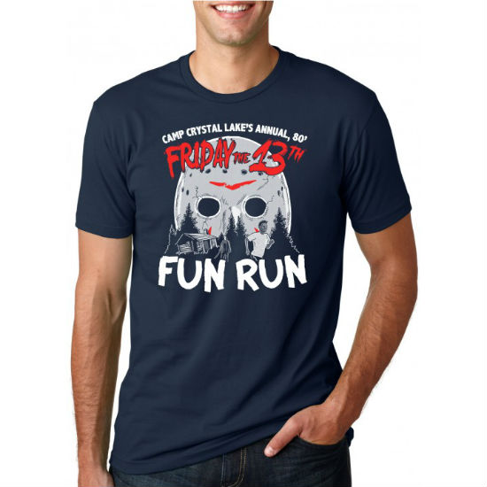 friday the 13th fun run tee
