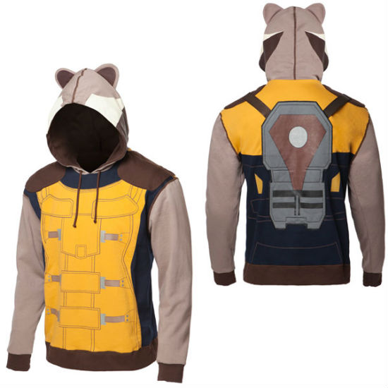 guardians of the galaxy rocket raccoon hoodie