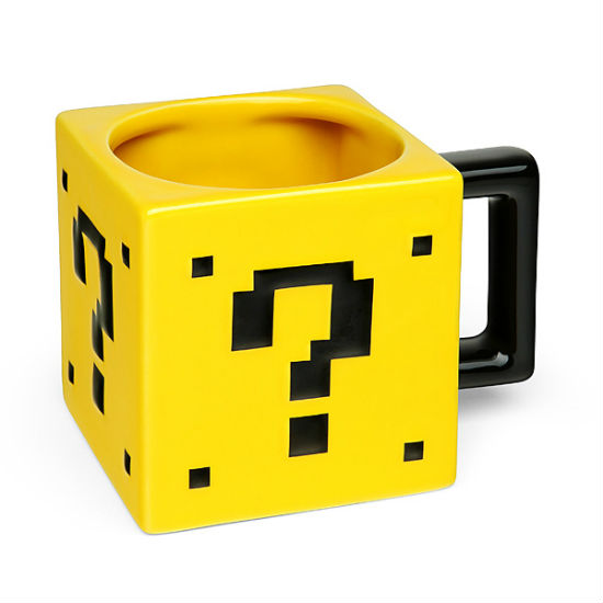 Super Mario Power Up Block Mug