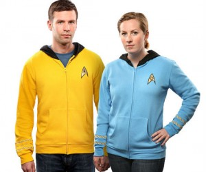 Star Trek Uniform Hoodies – To boldly wear…