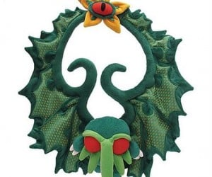 Perfect for an H.P. Lovecraft fan that enjoys being a bit off-kilter during the Holidays!
