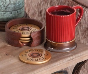 Pairs perfectly with the Shotgun Shell Coasters that are also pictured here!