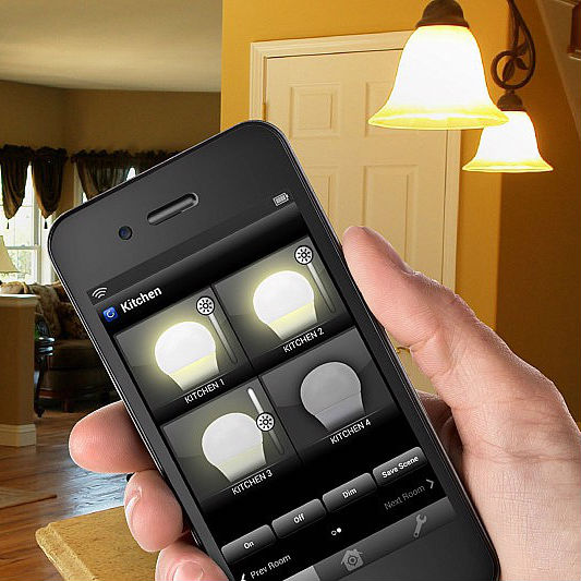 app controlled light bulbs kit