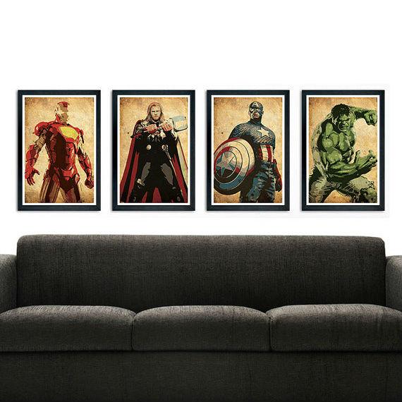 avengers poster set