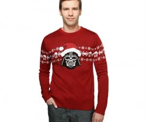 Santa Vader Christmas Sweater – Walkin' in a winter wampaland!