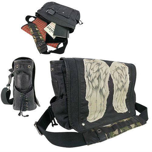 daryl dixon wings messenger bag