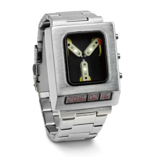 flux capacitor wrist watch