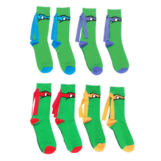 ninja turtle mask socks