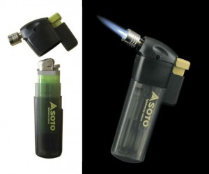 Turns any standard lighter into a portable pocket torch