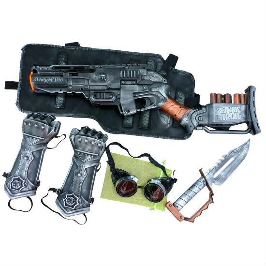 steampunk gun set