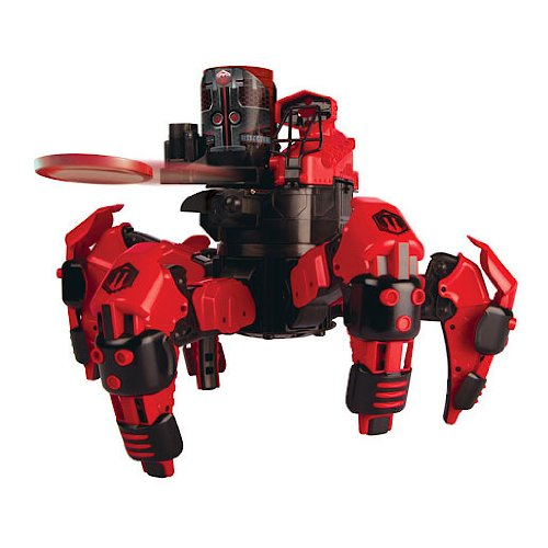 battling robot spider