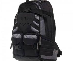 Batman Tactical Backpack – Everything you need to be the Dark Knight of the school halls.