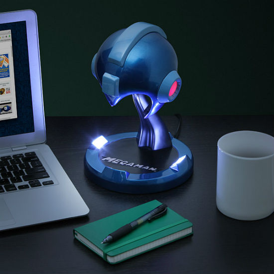 Mega Man Helmet Desk Lamp Shut Up And Take My Money