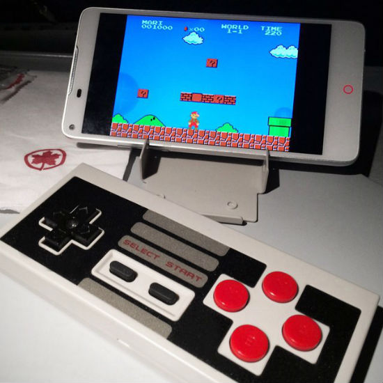 bluetooth retro nes controller