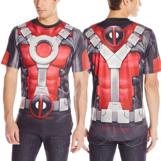 deadpool costume tee