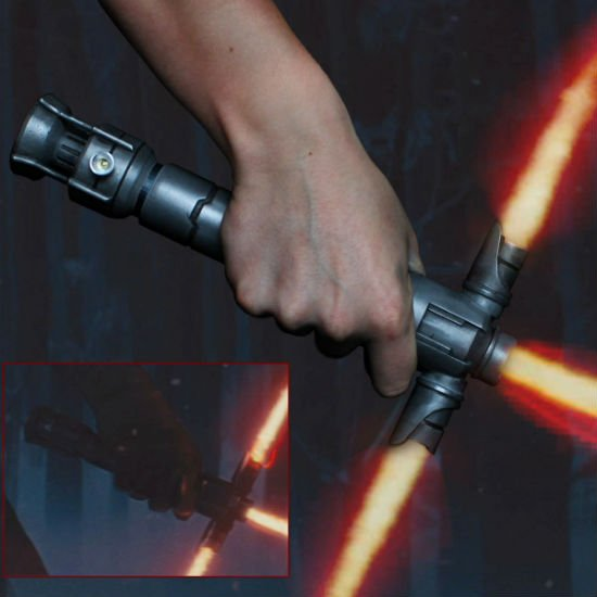 force awakens crossblade lightsaber handle